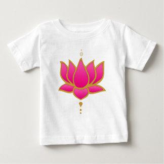 Pink Lotus Flower Baby T-Shirt