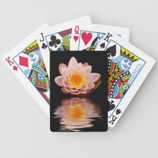 Pink Lotus Flower Card Deck
