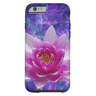 Pink lotus flower Customize Tough iPhone 6 Case