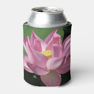Pink Lotus Flower IV Can Cooler