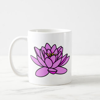Pink Lotus Flower Namaste Mug