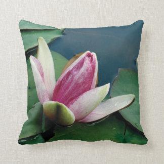 Pink Lotus Flower Photo Cushion 41 cm x 41 cm