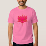 Pink Lotus Flower Tshirt
