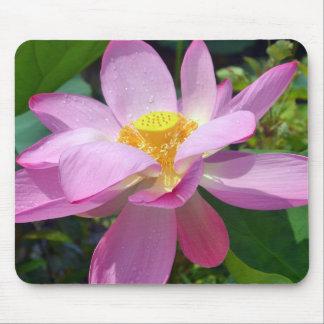 Pink Lotus Mouse Mat