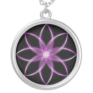 Pink Lotus Necklace