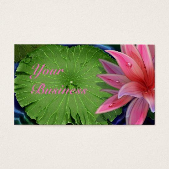 Pink Lotus Standard Business Card