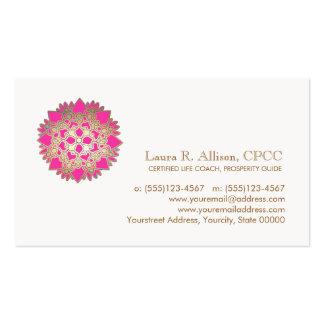Pink Lotus Wellness and Healing Arts Business Card