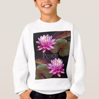 Pink Lotus with Peace Shirt