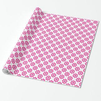 Pink lotus wrapping paper