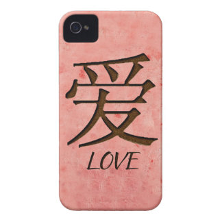 Pink Love Blackberry Bold Case Mate Barely There