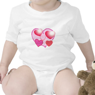 Pink Love Expression - Hearts T Shirts