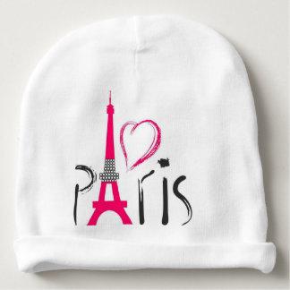 Pink love Paris Baby Beanie