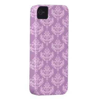 Pink Luxurious Damask Pattern iPhone 4 Case-Mate Case