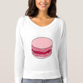 Pink Macaron Strawberry Fraise Dessert Sweet Pinks T-Shirt