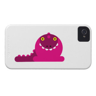 Pink Mad Dragon Blackberry Case