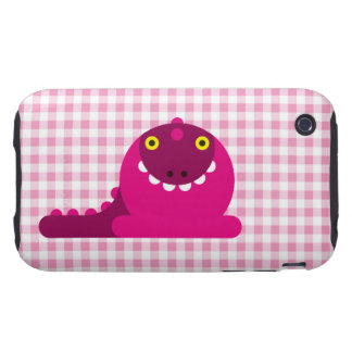 Pink Mad Dragon iPhone 3 Tough Cover
