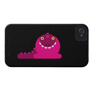 Pink Mad Dragon iPhone 4 Case-Mate Cases