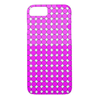 PINK MAGENTA DOT iPHONE 7/8 CASE