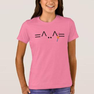 Pink Magic Cat T-shirt