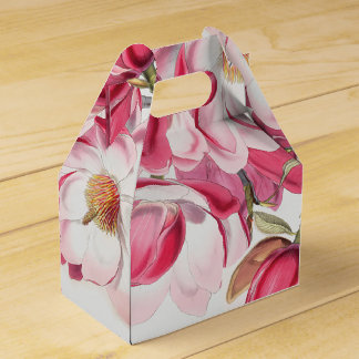 Pink Magnolia Favor Box