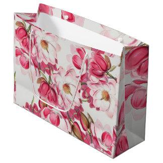 Pink Magnolia Gift Bag