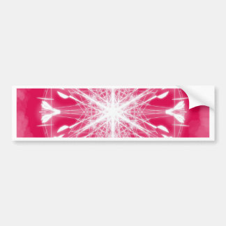Pink Mandala Bumper Sticker