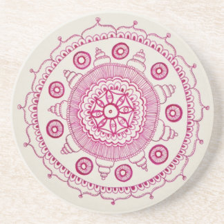 Pink Mandala Coaster