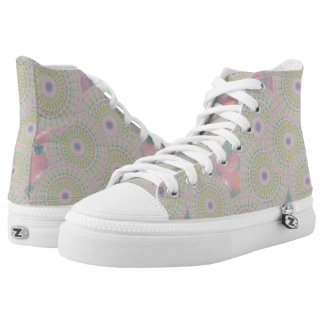 Pink Mandala High Tops