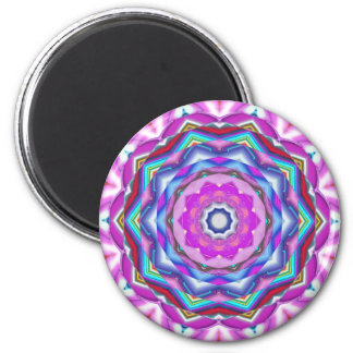 Pink Mandala Magnet