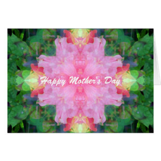 Pink Mandala Mother's Day Card
