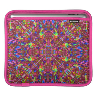 Pink Mandala Pattern iPad Sleeve