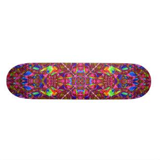 Pink Mandala Pattern Skate Deck