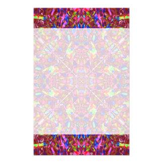 Pink Mandala Pattern Stationery