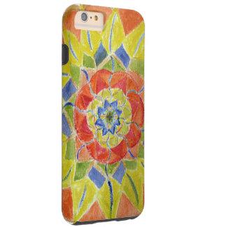 Pink MandalaWatercolor iPhone 6/6s Plus, Tough Tough iPhone 6 Plus Case
