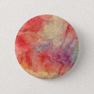 Pink Marble 6 Cm Round Badge