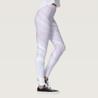 Pink Marble Design Leggings