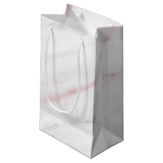 Pink Marble Gift Bag