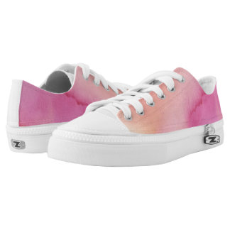 Pink Marble Low Tops