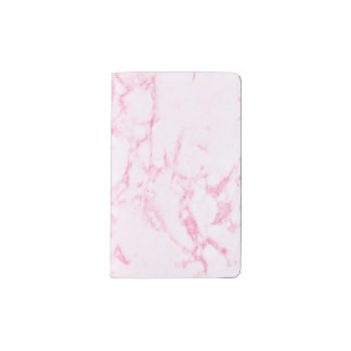 Pink  Marble Pocket Moleskine Notebook