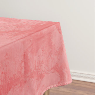 Pink Marble Splash Tablecloth