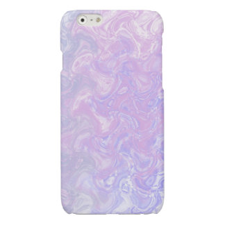 Pink Marble Swirl iPhone 6 Plus Case
