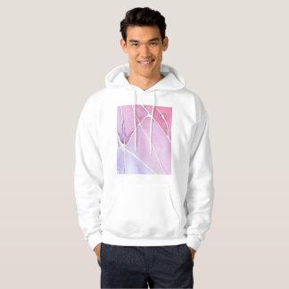 Pink Marble Watercolour Break Hoodie