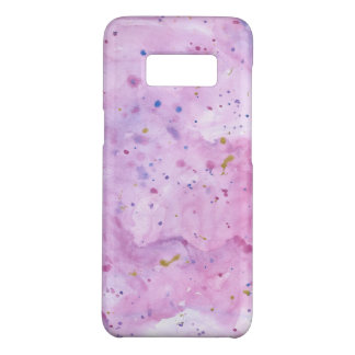 Pink Marble Watercolour Splat Case-Mate Samsung Galaxy S8 Case