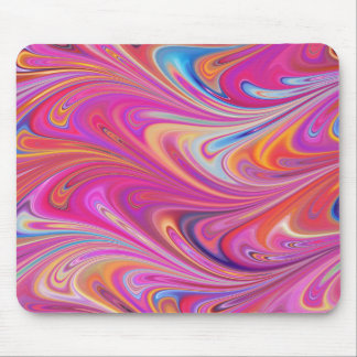 Pink Marbled Mouse Mat