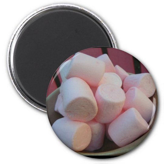 Pink Marshmallow Magnet