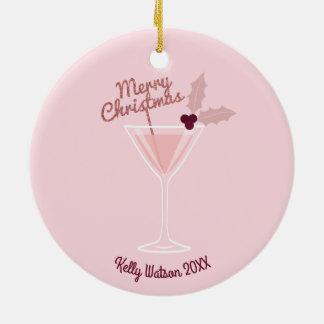 Pink Martini Christmas Christmas Ornament