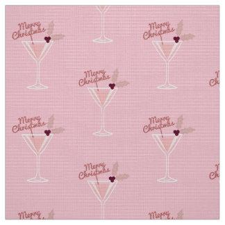 Pink Martini Christmas Fabric