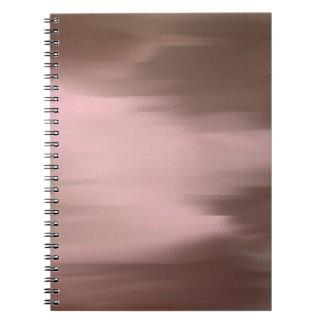 Pink Mauve Smear Notebook