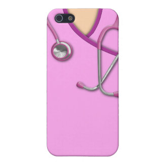 Pink Medical Scrubs Case For The iPhone 5