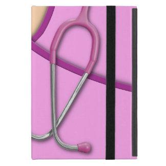 Pink Medical Scrubs iPad Mini Cover